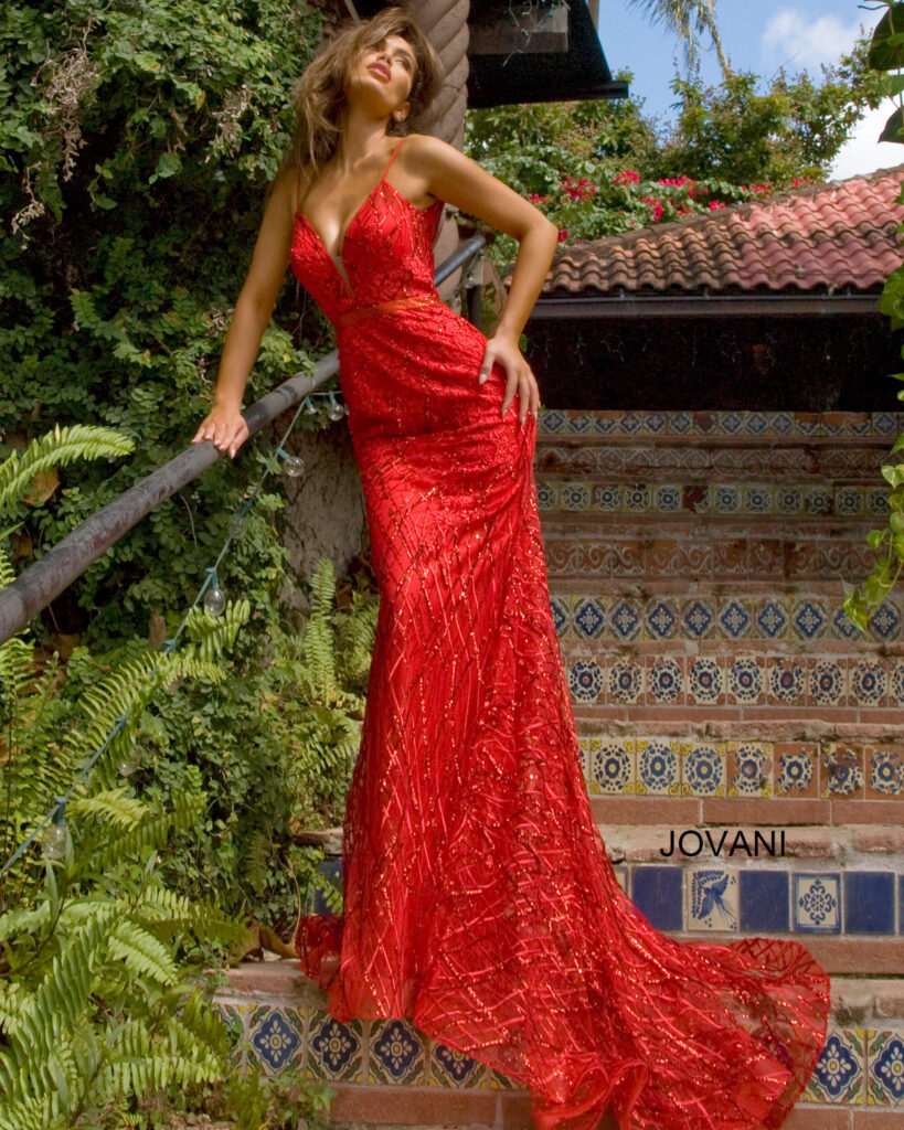Jovani Couture 02245-RED